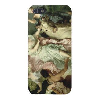 Europa porté par Jupiter Coque iPhone 5