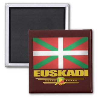 Euskadi (pays Basque) Magnet Carré