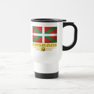 Euskadi (pays Basque) Mug De Voyage En Acier Inoxydable