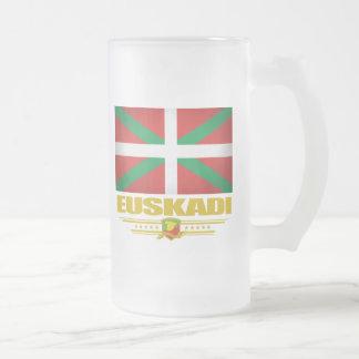 Euskadi (pays Basque) Mug En Verre Givré