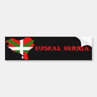 Euskal Herria Autocollant De Voiture