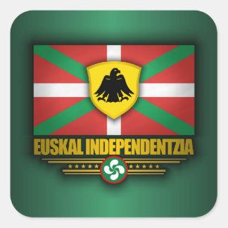 Euskal Independentzia Autocollants Carrés