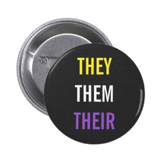 Eux/eux/leurs pronoms badges