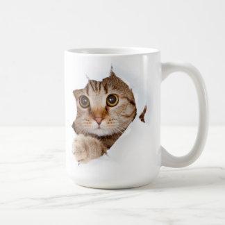 évasion de chat ! mug