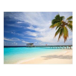 Évasion maldivienne cartes postales