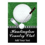 Événement de golf - SRF Carton D'invitation 12,7 Cm X 17,78 Cm