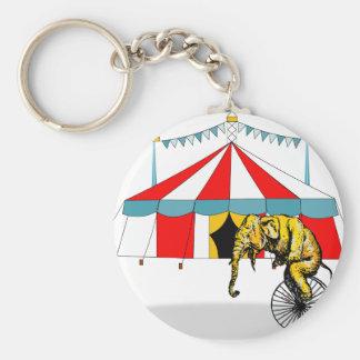 Évènements mémorables de cirque dans la mémoire porte-clé rond