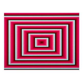 Évent rouge carte postale