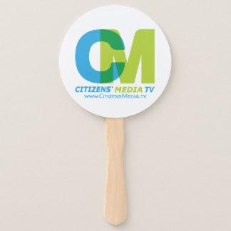 Éventail Logo des médias TV des citoyens