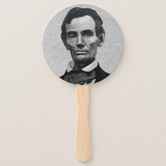 """Éventail Portrait du Président Abraham """"Abe"""" Lincoln"""