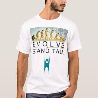 Évoluez et tenez-vous grand t-shirt