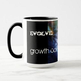 """* """" ÉVOLUEZ"""" le café Mug* de concepteur Tasse"""