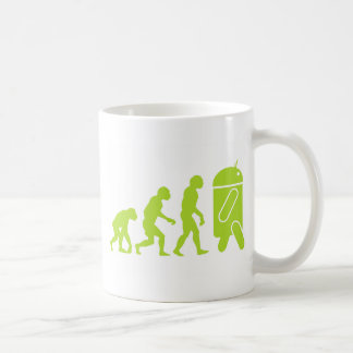 Évolution androïde tasse à café
