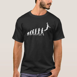 Évolution - basket-ball b t-shirt