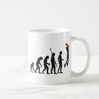 évolution basketball mugs