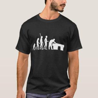 évolution billard t-shirt