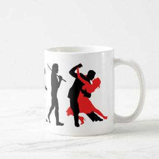 Évolution - danse mug blanc