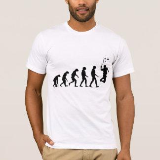 Évolution de badminton t-shirt