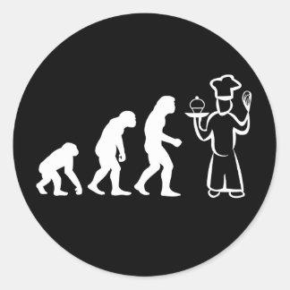 Évolution de Baker Sticker Rond
