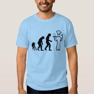 Évolution de Baker T-shirts