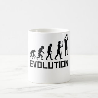 Évolution de basket-ball mug
