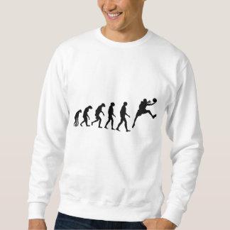 Évolution de basket-ball sweatshirt