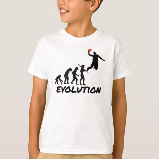Évolution de basket-ball t-shirt