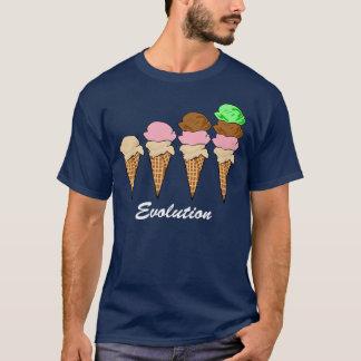 Évolution de crème glacée t-shirt