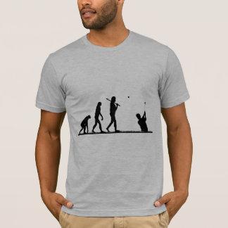 évolution de golf t-shirt