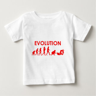 Évolution de Jiu Jitsu T-shirt Pour Bébé