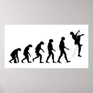 Évolution de l'alpinisme poster