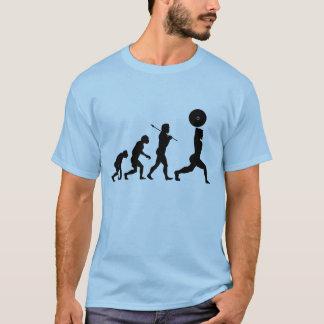 Évolution de l'homme t-shirt
