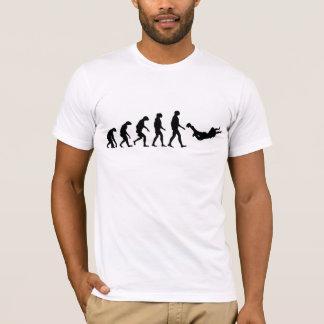 Évolution de parachutisme t-shirt