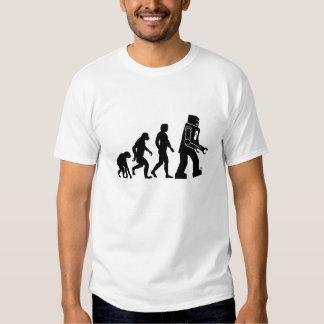 Évolution de robot - nos nouveaux suzerains de t-shirts