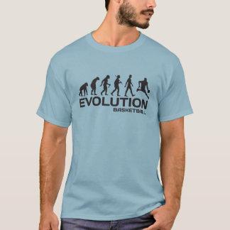 ÉVOLUTION de T-shirt drôle de NBA de sport de
