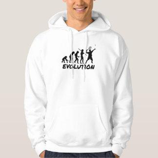 Évolution de tennis sweat-shirts avec capuche