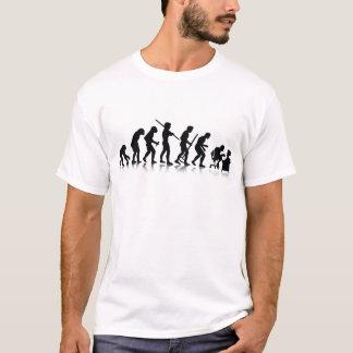 Évolution des mordus de l'informatique t-shirt