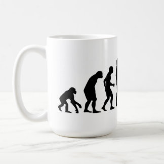 Évolution d'ordinateur mug