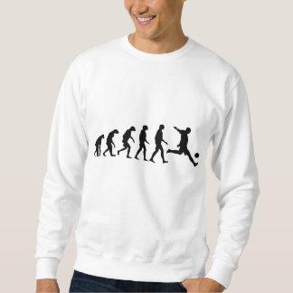 Évolution du football sweatshirt