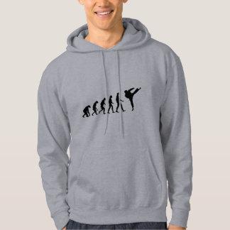 Évolution du karaté veste à capuche