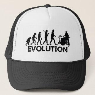 Évolution d'un batteur casquette