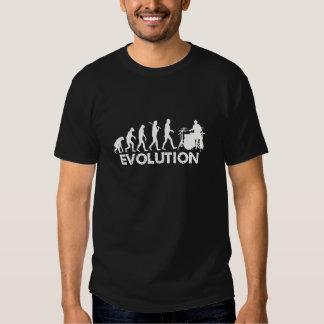 Évolution d'un batteur t-shirts