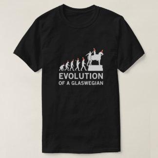 Évolution d'un T-shirt de Glaswegian (Glasgow)