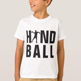 évolution handball t-shirt