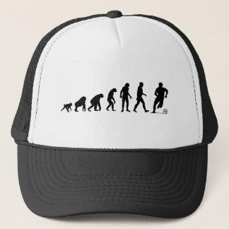 Évolution humaine : Casquette du football