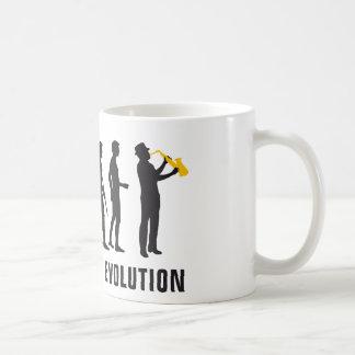 évolution jazz tasse à café