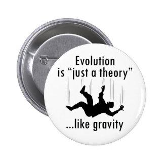 Évolution juste une théorie pin's