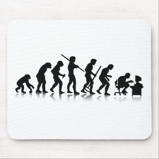 Évolution nerd tapis de souris