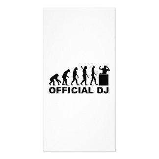 Évolution officielle du DJ Cartes De Vœux Avec Photo