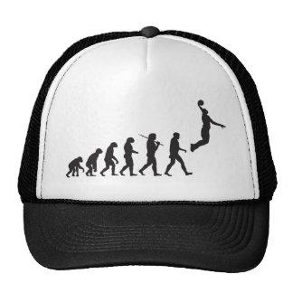 Évolution - saut de basket-ball casquette